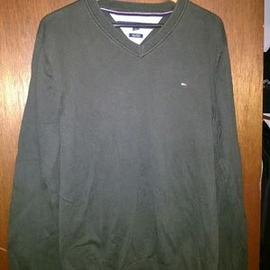 Tommy Hilfiger V-Neck sweater...army green